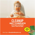 Food scrap composting reduces greenhouse gases and conserves water